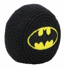 Official DC Comics Batman Hacky Sack (Black/Yellow)