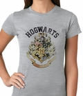 Official Hogwarts School Crest Ladies T-shirt