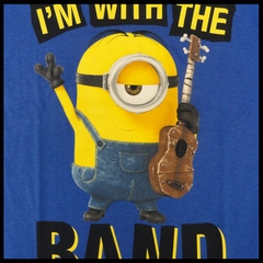 Official Minions I'm With The Band Mens T-shirt