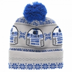 Official R2D2 Starwars Fair Isle Pom Beanie