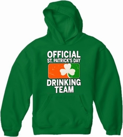 Official St. Patricks Day Drinking Team Adult Hoodie