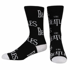 Official The Beatles Logo Socks
