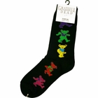 Official The Grateful Dead Dancing Bears Socks(Black)