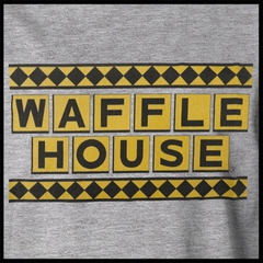 Official Waffle House Funny Vintage Mens T-shirt