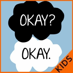 """""""Okay? Okay."""" Quote The Fault In Our Stars Kid's T-Shirt"""