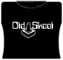 Old Skool Gamers Girls T-Shirt