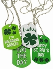 One Assorted Irish St. Patrick's Day Dog Tag