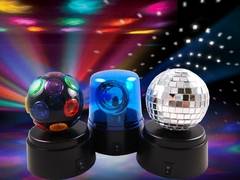 Party To Go Light Set :: Complete Portable Dance Party Lighting