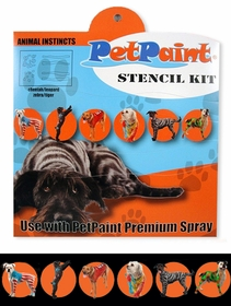 Pet Paint Stencil Kit