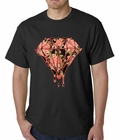 Pink Roses Dripping Diamond Mens T-shirt