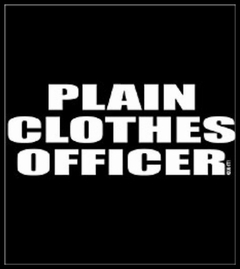 Plain Clothes Officer T-Shirt