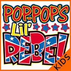 Pop-Pops Lil' Rebel Kids T-Shirt