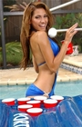 Port-o-Pong Portable Inflatable Beer Pong Table and Pool Pong Table