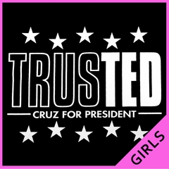 TrusTED - Ted Cruz For President Ladies T-shirt
