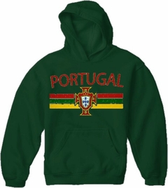 Portugal Vintage Shield International Hoodie