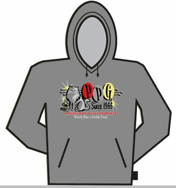 PPG (Professional P*ssy Groomers) Since 1966 Hoodie<!-- Click to Enlarge-->