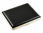 Premium Black Leather Full-Pack Cigarette Case (For Regular Size Only)