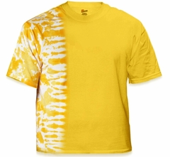 Premium Hand Made Tie Dye T-Shirts - Gold Fusion