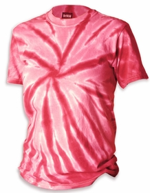 Premium Hand Made Tie Dye T-Shirts - Red Pinwheel