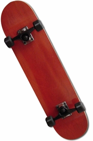 Pro Blank Maple Complete Skateboard  (Red)