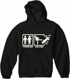 Problem Solved Adult Hoodie