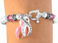 Promise of a Cure Cancer Bracelet