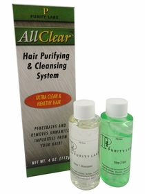 Purity Labs - All Clear Hair Purifying & Cleansing System
