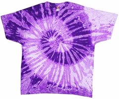 Purple And White Tie Dye T-Shirt