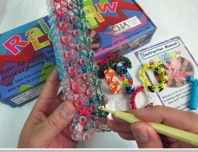 Rainbow Looms Rubber band  Rainbow Loom Kit<!-- Click to Enlarge-->