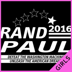 Rand Paul Presidential Campaign 2016 Ladies T-shirt