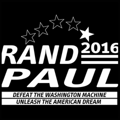 Rand Paul Presidential Campaign 2016 Mens T-shirt