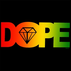 Rasta Dope Diamond Men's T-Shirt