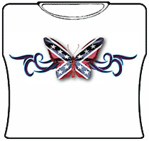 Rebel Butterfly Girls T-Shirt