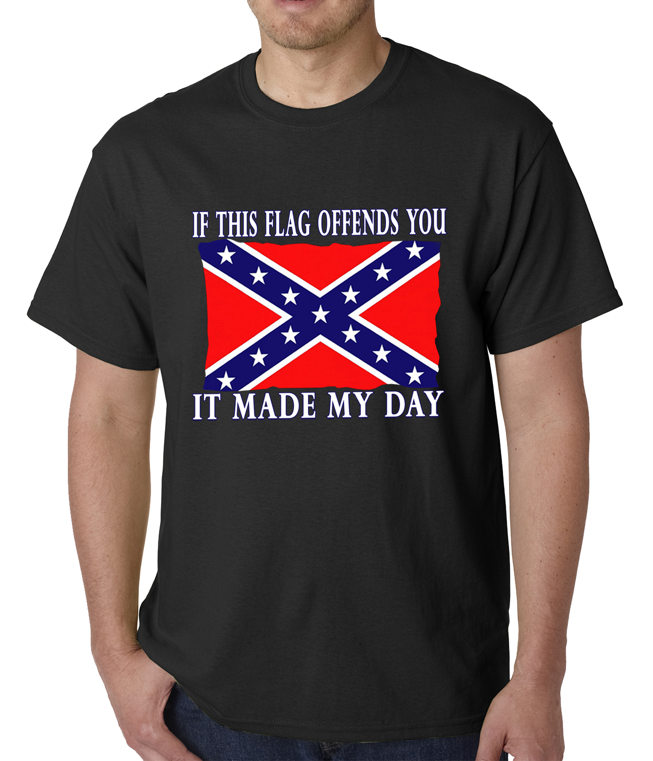 Confederate Flag Tshirt If This Flag Offends You It Made