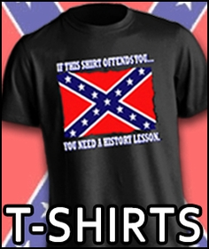 Rebel Flag T-Shirts - Confederate Flag Shirts