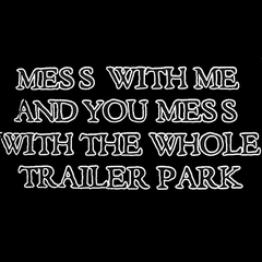 Rebel & Redneck Tees - Mess With The Whole Trailer Park T-Shirt