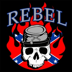 Rebel & Redneck Tees - Rebel Soldier T-Shirt