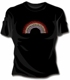 Rhinestone Rainbow Girls T-Shirt