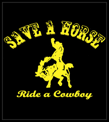 Ride A Cowboy Men's T-Shirt