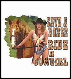 Ride A Cowgirl T-Shirt
