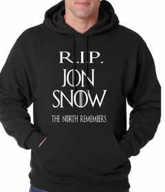 RIP Jon Snow - The North Remembers Adult Hoodie