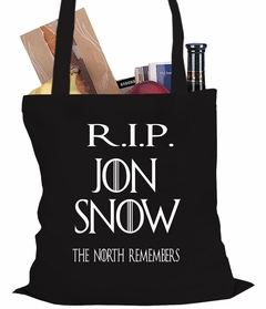 RIP Jon Snow - The North Remembers Tote Bag