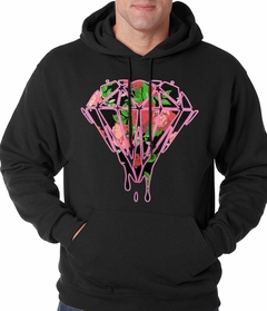 Roses Dripping Diamond Adult Hoodie