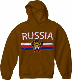 Russia Vintage Shield International Hoodie