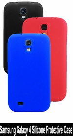 Samsung Galaxy 4 Silicone Case (Colors) - Silicone Protective Case for Samsung 4