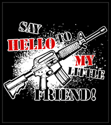 Say Hello To My Little Friend Men's T-Shirt