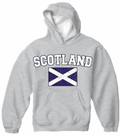 Scotland Vintage Flag International Hoodie