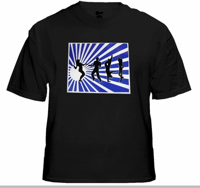 Shadow Dancers Sound Reactive Light Show T-Shirt<!-- Click to Enlarge-->