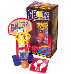 Shotglass Basketball Drinking Game