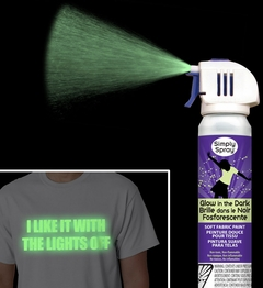 Simply Spray - Glow in the Dark Fabric Paint